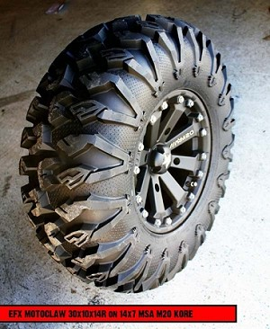 Utv Tires For Sale >> Efx Moto Claw Dot Approved Tires