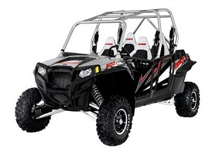 Pro Armor 2012 Polaris RZR 4 & RZR XP 4 900 Liquid Silver Graphic Kit