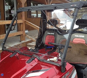 Seizmik Full Windshield for Polaris Ranger 500/800 (09-14)
