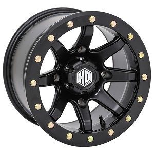 STI HD9 Wide CompLock Beadlock Wheels 14x8 & 14x10, Matte Black