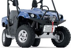 Warn Bumper / Winch Mount for Yamaha Rhino