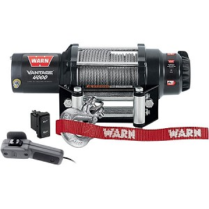 Warn Vantage 4000 lb. Wire Rope Winch  (Warn 89040)