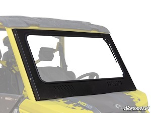 Super ATV Vented Full Glass Windshield for Can-Am Defender Models