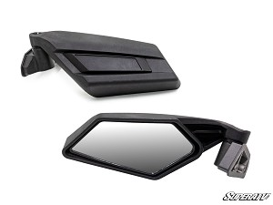 Super ATV Side View Mirrors for Can-Am Maverick X3