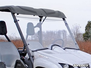 Super ATV Scratch Resistant Full Windshield for Yamaha Rhino