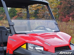 Super ATV Half Windshield for Polaris Ranger Midsize 2015+