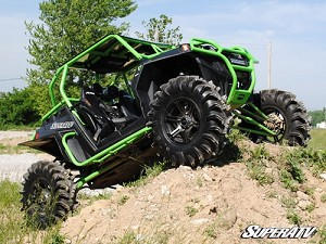 Super ATV Heavy Duty Rock Sliding Nerf Bars for Polaris RZR XP 900