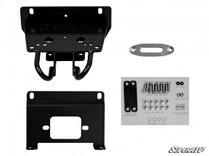 Super ATV Winch Mounting Plate for 3500 lb Winches for John Deere Gator RSX