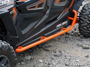 Super ATV Heavy Duty Rock Sliding Nerf Bars for Polaris RZR XP 4 1000 / 4 900 / XP 4 Turbo