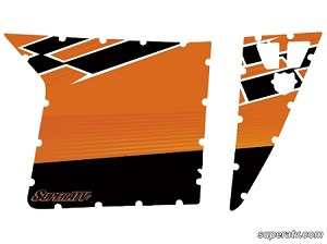 Super ATV Nuclear Sunset LE Door Graphic Kit