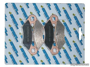 Super ATV Brake Pads for Polaris RZR