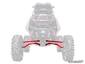 Super ATV High Clearance Boxed Rear Suspension Links for Polaris RZR RS1