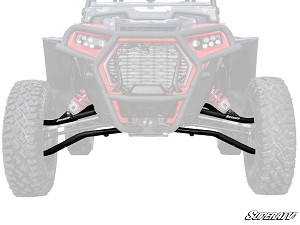 Super ATV High Clearance 1.5 Inch Offset Front A-Arms for Polaris RZR Turbo S