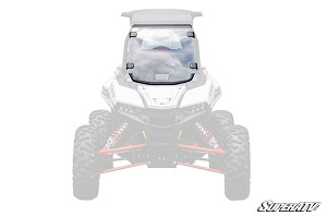 Super ATV Scratch Resistant Full Windshield for Polaris RZR RS1