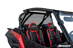 Super ATV Rear Windshield for Polaris RZR XP Turbo S