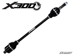 Super ATV Rhino X300 Heavy Duty Axle for Polaris General (Big Lift Kit)