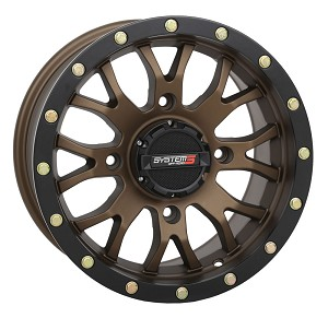 System 3 ST-3 15 Inch Wheels, Bronze, 5+2 Offset (with optional mounted tires)