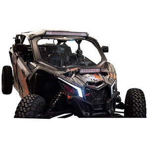 Tusk Full Glass Windshield for Can-Am Maverick X3 Models