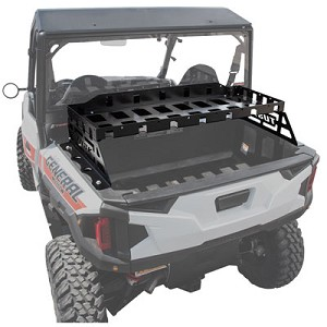 Tusk Powder Coated Cargo Rack for Polaris General 1000 / General 4 1000