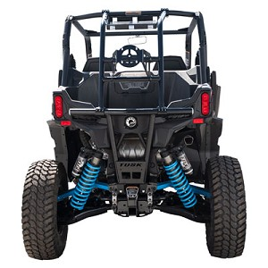 Tusk Impact Rear Cargo Rack / Spare Tire Mount for Can-Am Maverick Sport & Trail Models