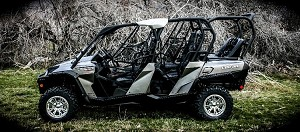 UTVMA Can-Am Commander Max Back Seat and Roll Cage Kit