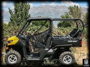 UTVMA Back Seat and Roll Cage Kit for Can-Am Defender