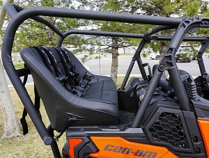 UTVMA Back Seat and Roll Cage Kit for Can-Am Maverick Sport Max