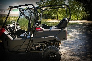UTVMA Honda Pioneer 700 Roll Cage and Back Seat Kit