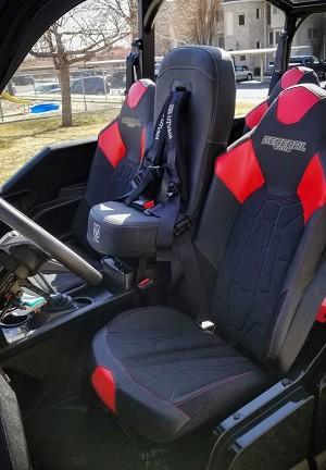 Utvma Bump Seat For Polaris General 1000 Models