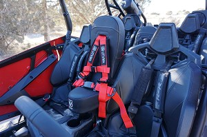 UTVMA Front Bump Seat for Polaris RZR 4 PRO