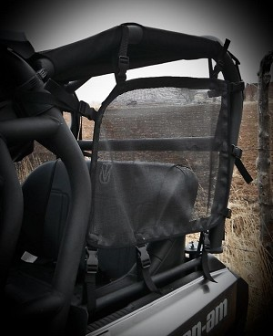 UTVMA Can-Am Commander Side Nets for Back Seat Kits