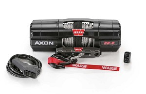 Warn Axon 5,500 lb. Winch with Synthetic Rope