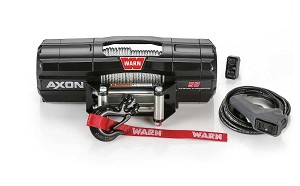 Warn Axon 5,500 lb. Winch with Wire Rope