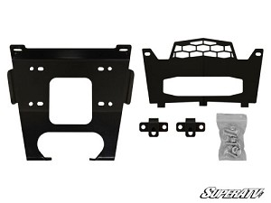 Super ATV Winch Mounting Plate for Polaris General 1000