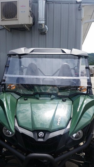 Dot Weld Fold Down Windshield for Yamaha Wolverine